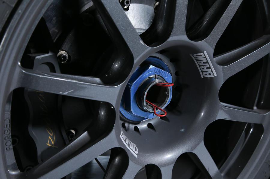 Radical RXC500 racing wheels