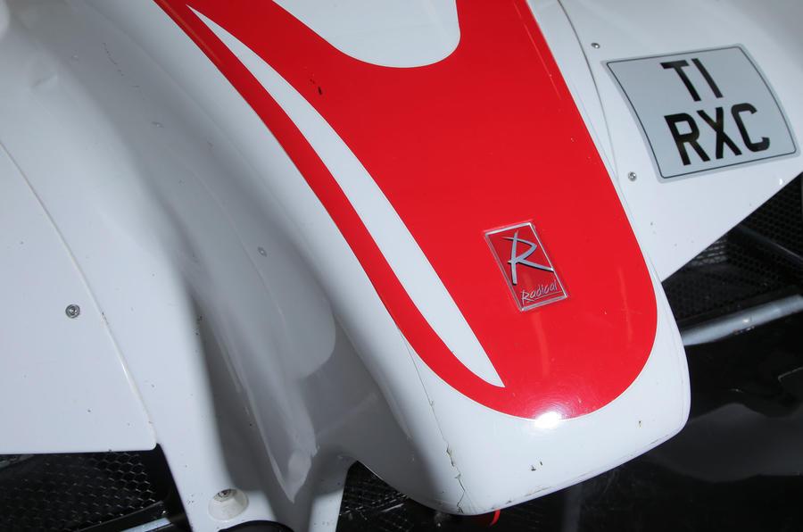Radical RXC500 front nose