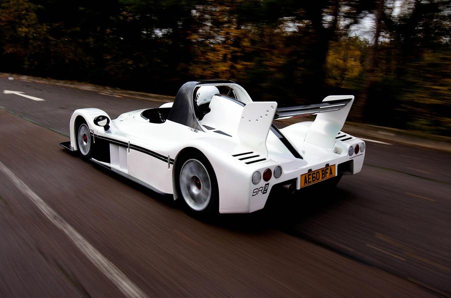 Radical SR3 SL rear quarter