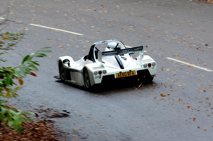 Radical SR3 SL rear cornering
