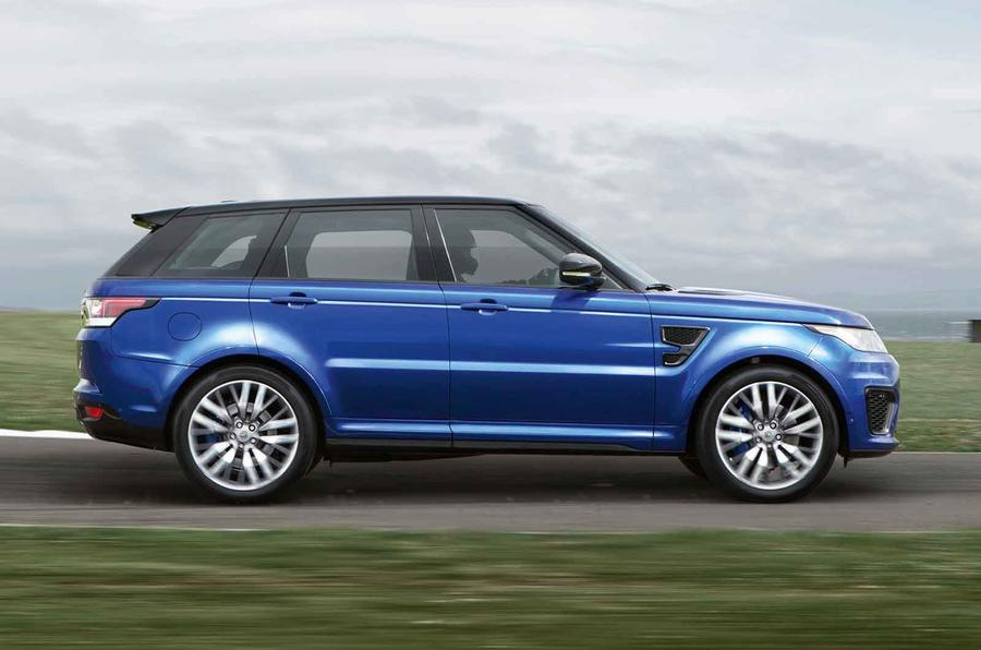 New 542bhp Range Rover Sport SVR revealed