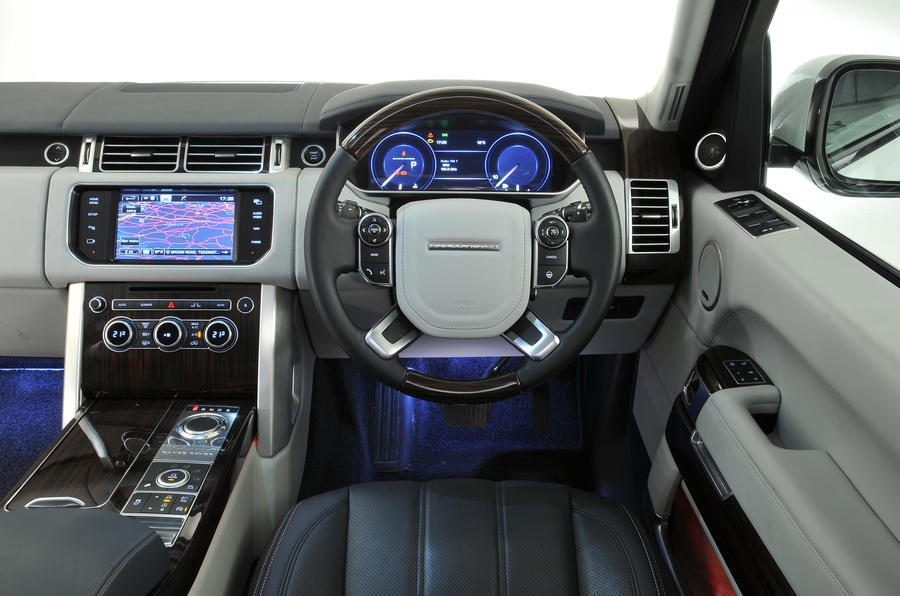 range rover review 2018 autocar. Black Bedroom Furniture Sets. Home Design Ideas