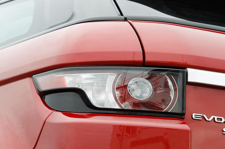 Range Rover Evoque rear lights
