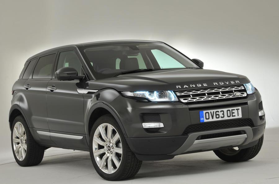 4 star Range Rover Evoque