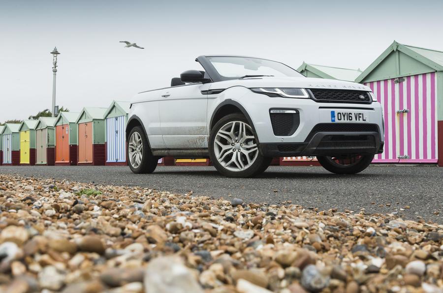 3.5 star Range Rover Evoque Convertible