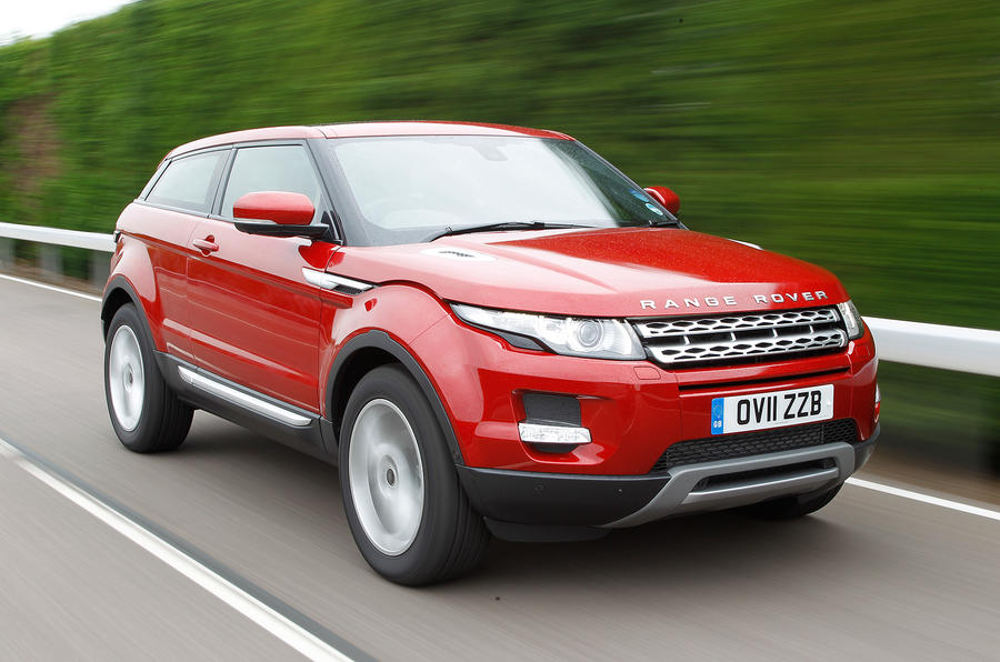 The Range Rover Evoque is available as a three-door, pictured here, or ...: www.autocar.co.uk/car-review/land-rover/range-rover-evoque