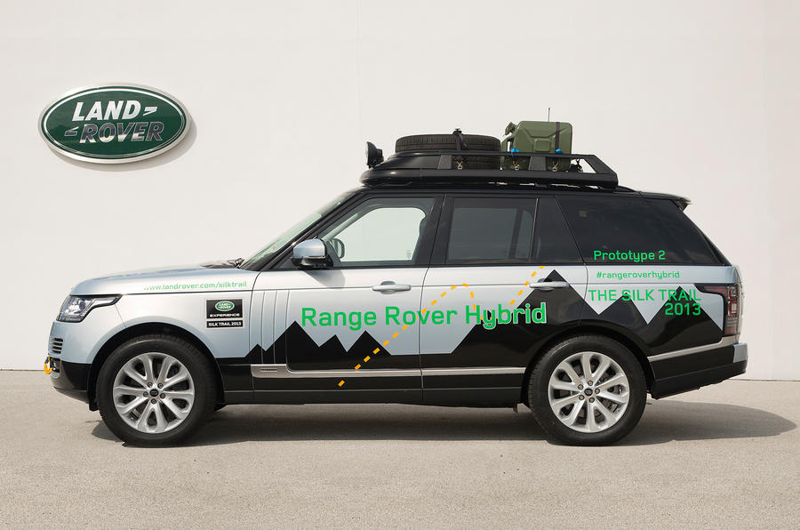 Range Rover Hybrid side profile