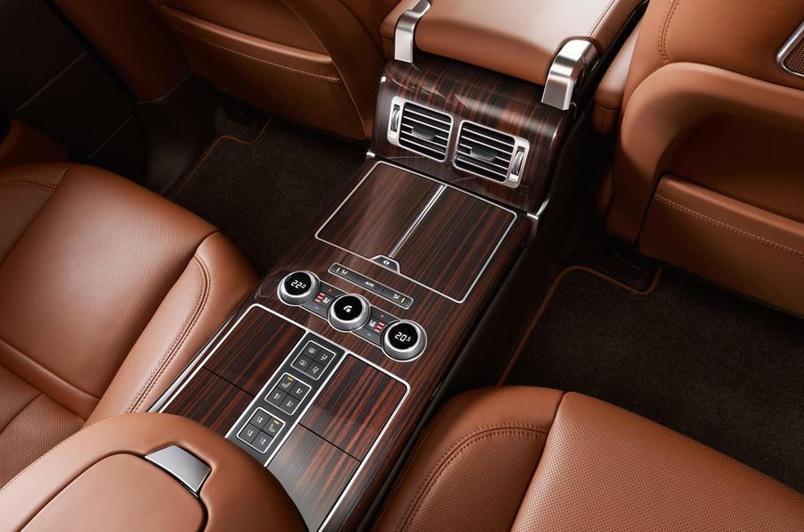 New long-wheelbase Range Rover revealed
