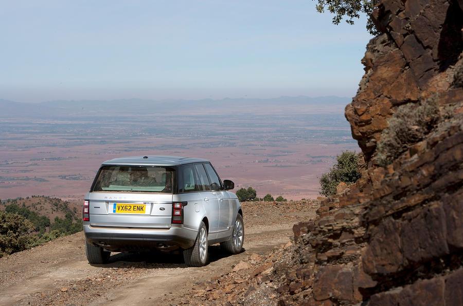 Range Rover Autobiography SDV8 rear