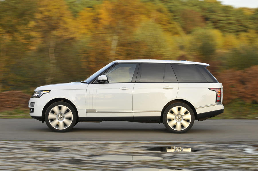 Range Rover side profile