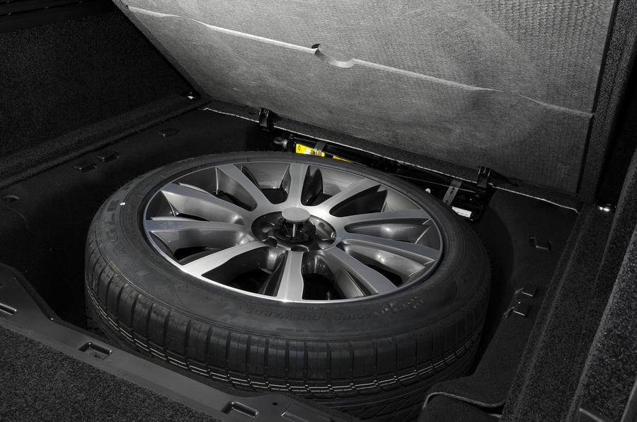 Range Rover spare wheel