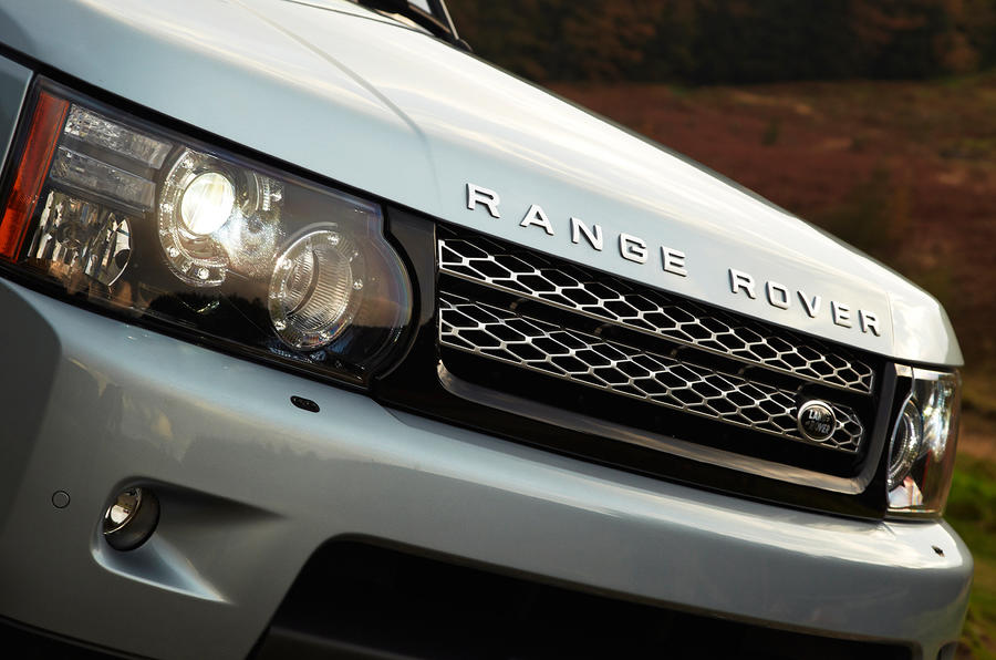 Range Rover Sport front grille