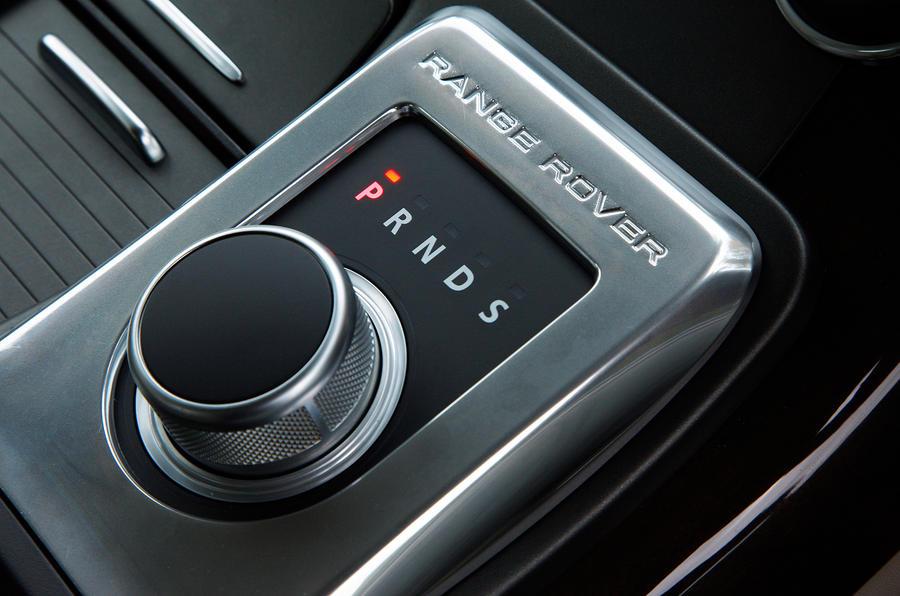 Range Rover Sport auto box