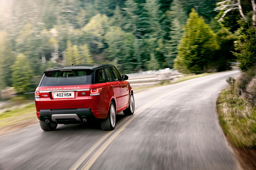 Range Rover Sport prototype first drive review