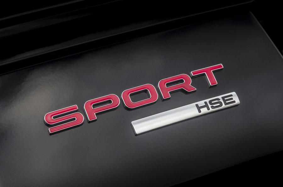 Range Rover Sport badging
