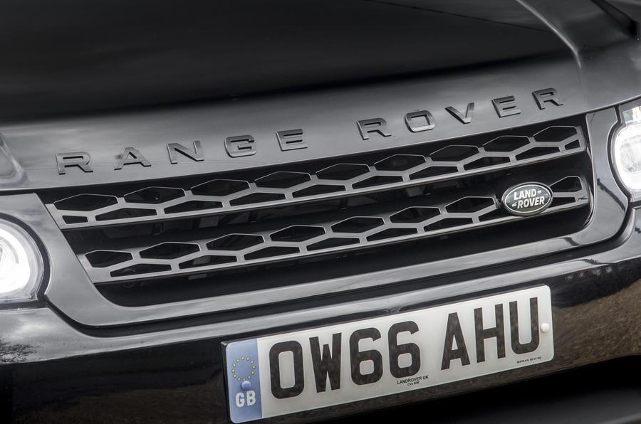 Range Rover Sport front grille