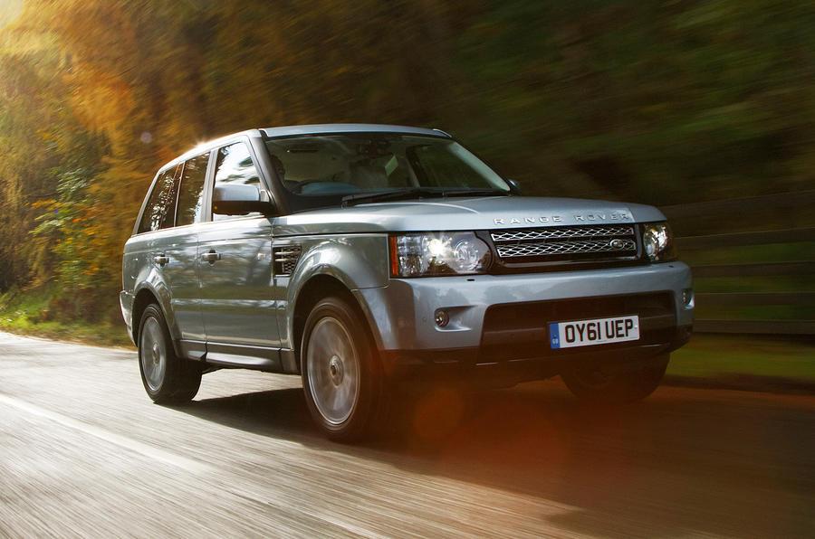 Range Rover Sport front quarter