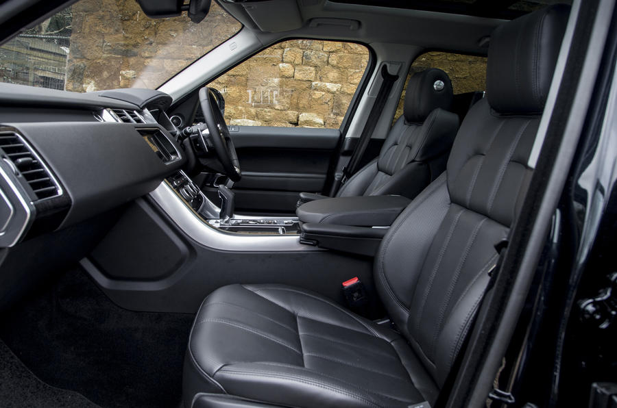 range rover sport review 2017 autocar. Black Bedroom Furniture Sets. Home Design Ideas