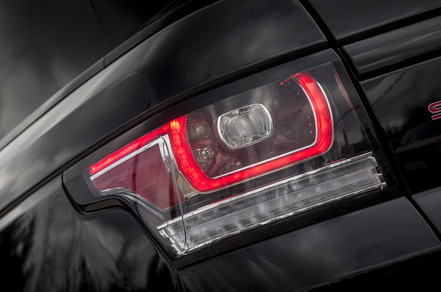 Range Rover Sport rear lights
