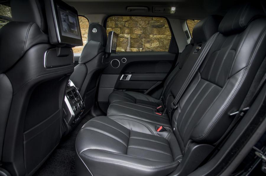 interior Range Rover Sport HSE
