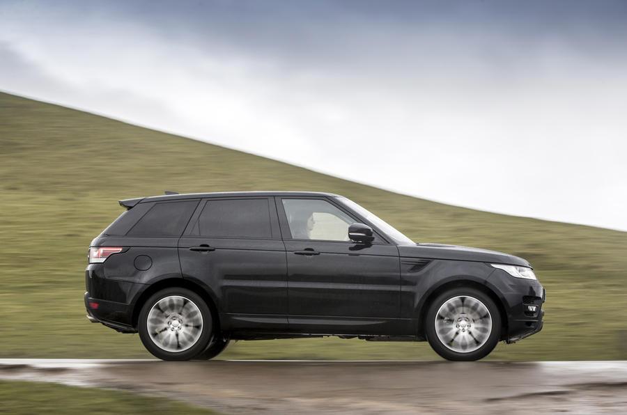 Range Rover Sport side profile