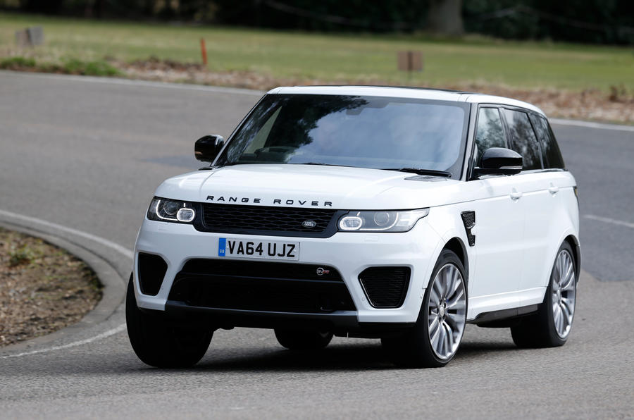 None of the Range Rover Sport SVR's heft or directional certainity has been dialled back in the pursuit of leaness