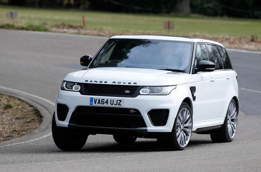 Range Rover Sport Svr Review 2017 Autocar