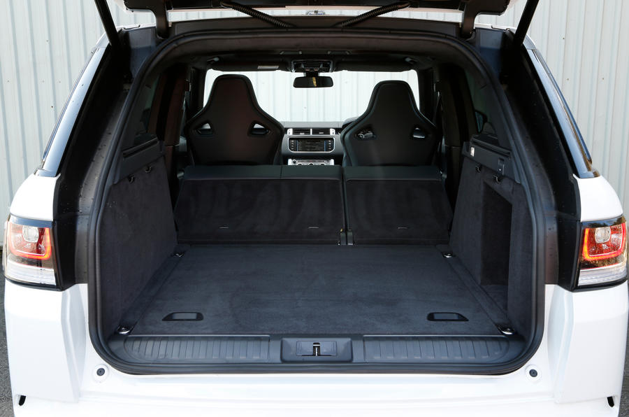 Range Rover SVR boot space