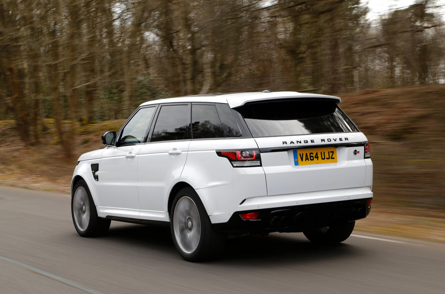 Land Rover's attempt to make the Range Rover Sport a Porsche Cayenne Turbo fighter
