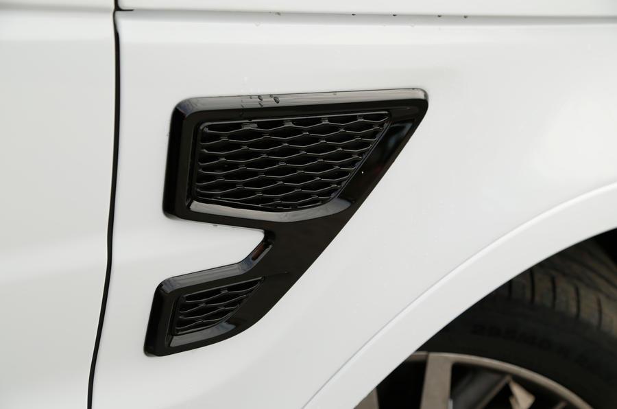 Range Rover SVR air vent