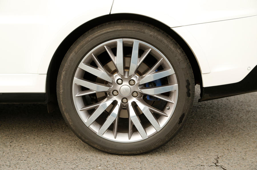 22in Range Rover SVR alloy wheels