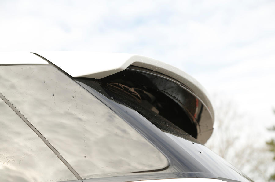 Range Rover SVR rear spoiler