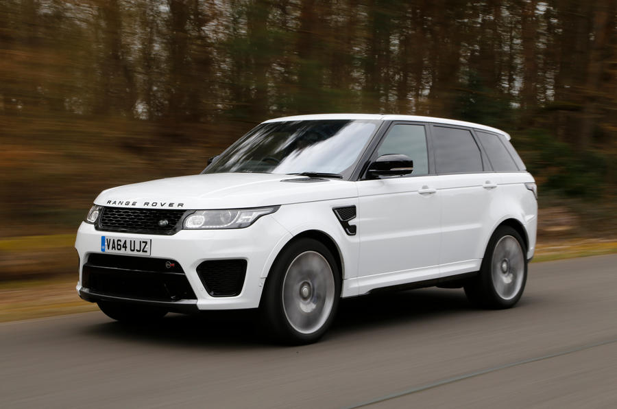 range rover sport svr review 2017 autocar. Black Bedroom Furniture Sets. Home Design Ideas