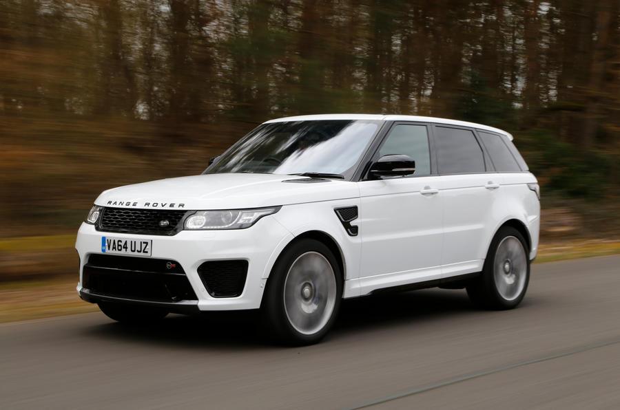 Range Rover Sport Svr Review 2018 Autocar