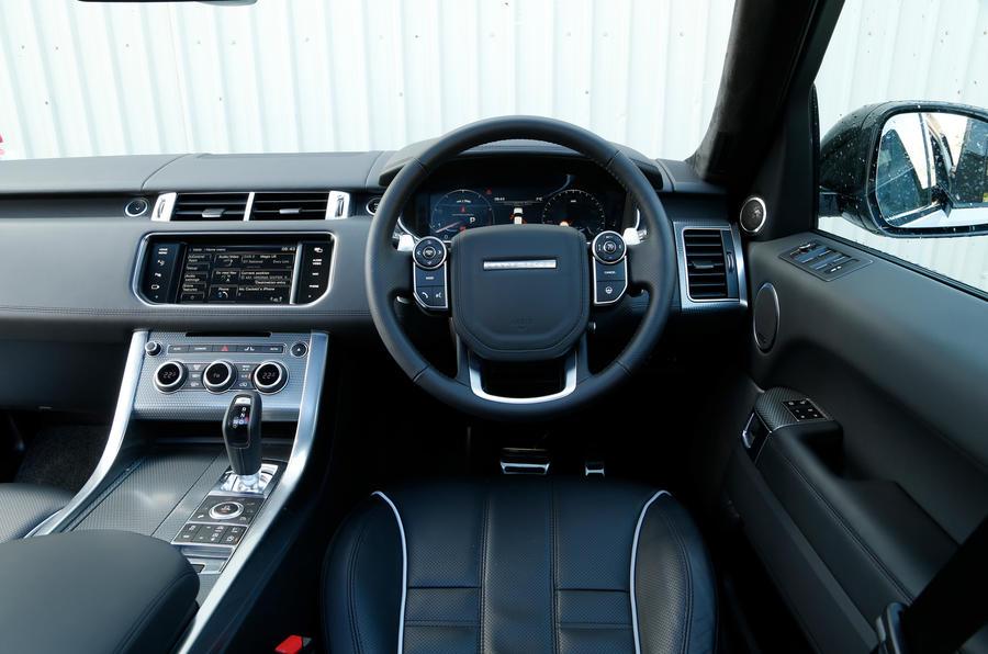 Land Rover Range Rover Sport Svr Ride Amp Handling Autocar