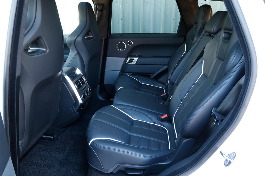 Range Rover SVR rear seats