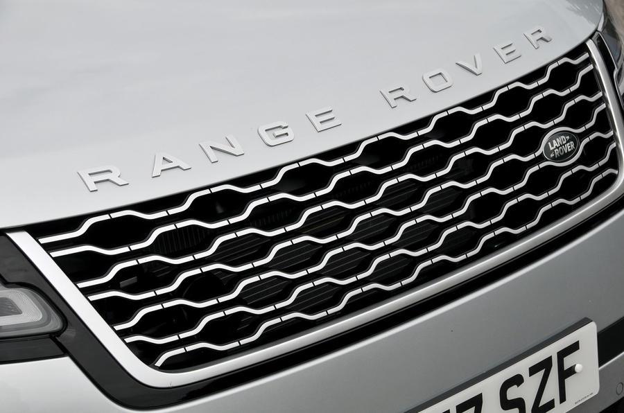 Range Rover Velar front grille