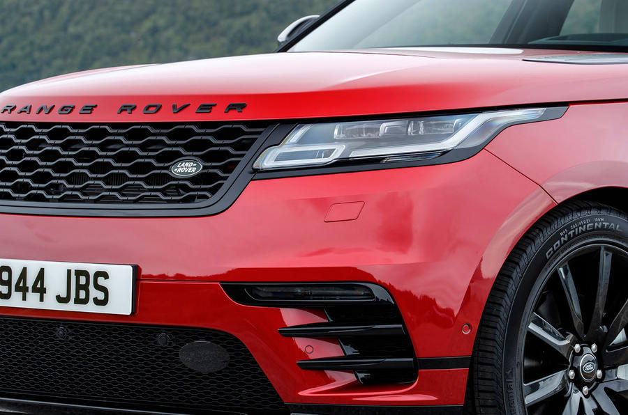 Range Rover Velar LED headlights