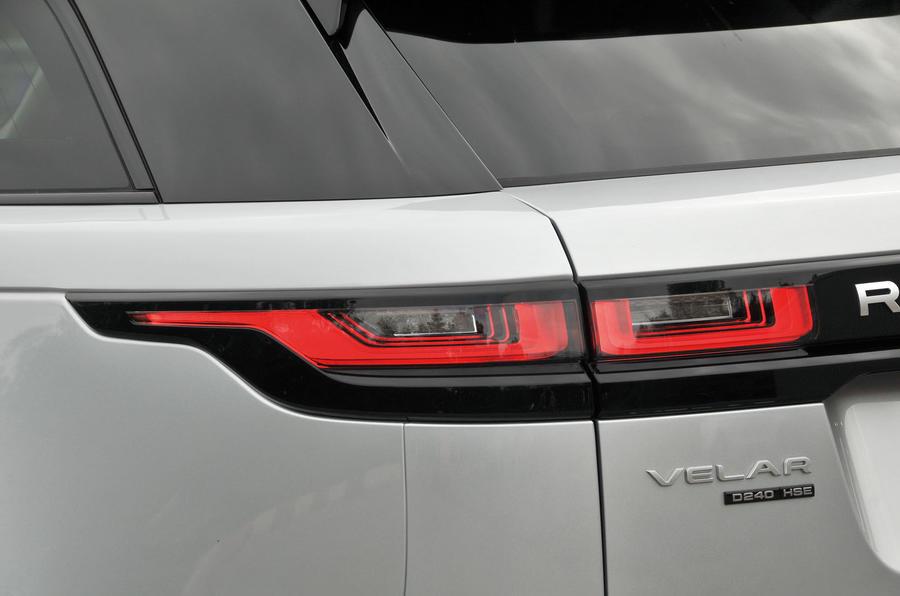 Range Rover Velar rear LED lights