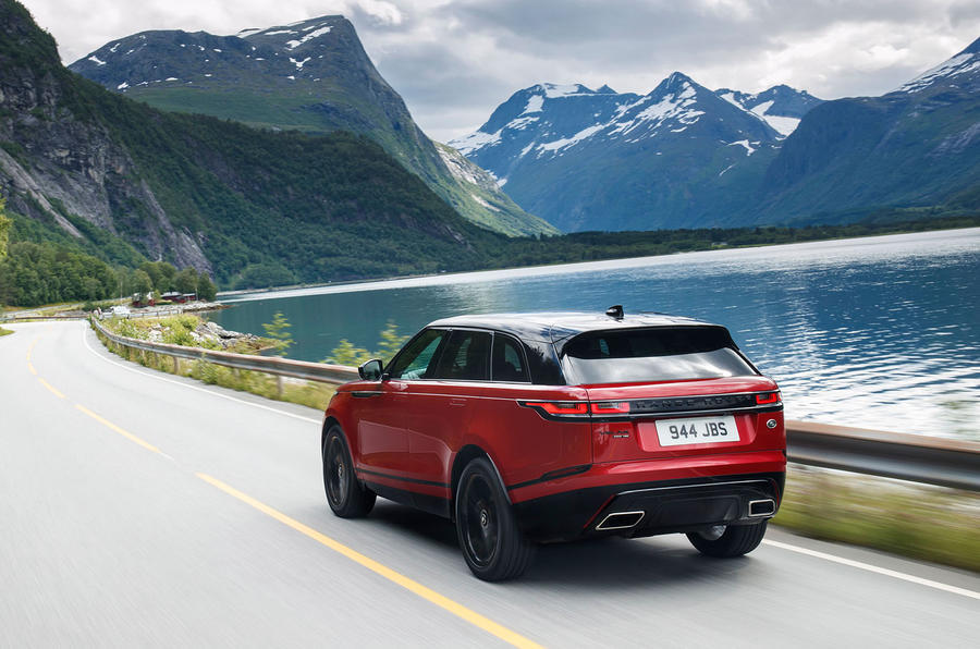 Range Rover Velar rear profile