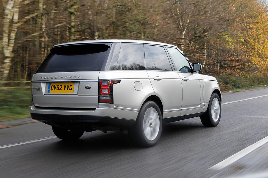 Range Rover rear quarter