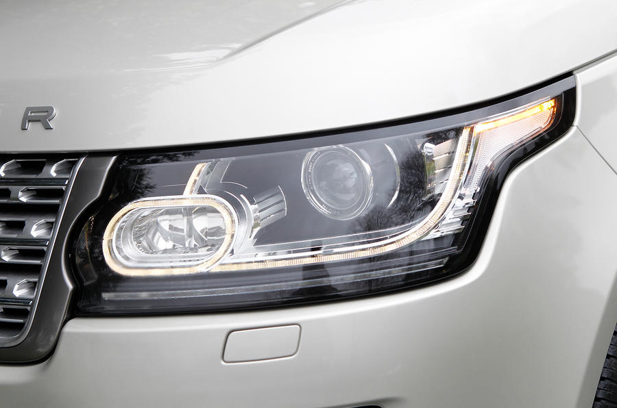 Range Rover LED headlight