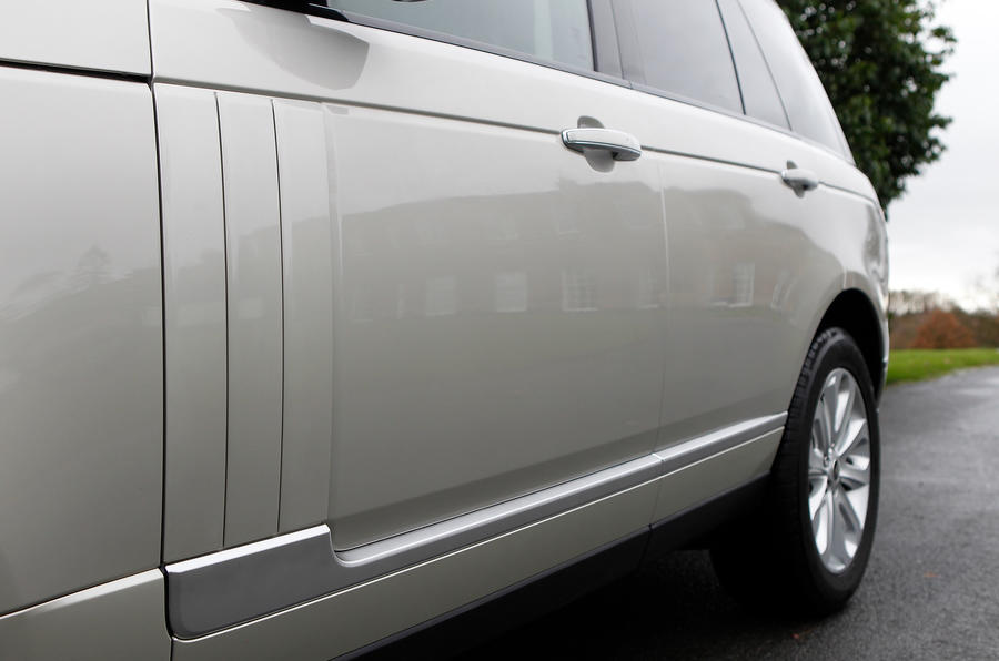 Range Rover non-functioning side vents