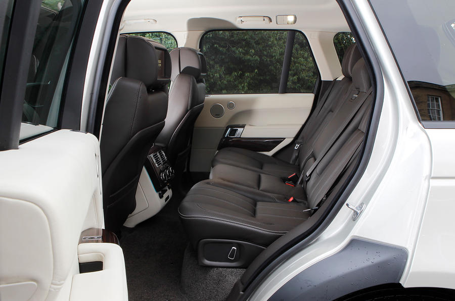 Range Rover rear seats