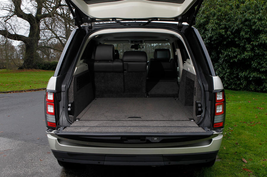 Range Rover boot space