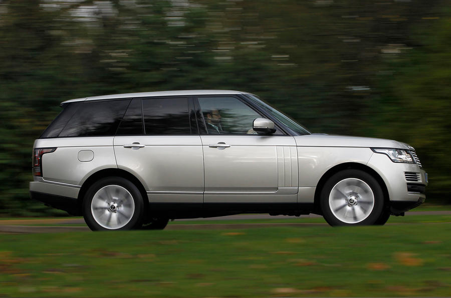 Range Rover SDV8 side profile