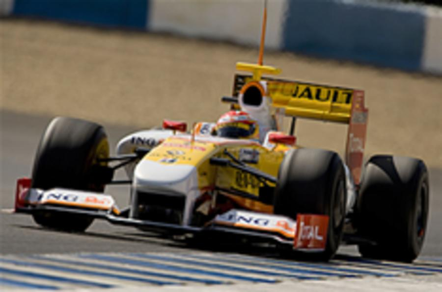 Renault F1 commits to KERS