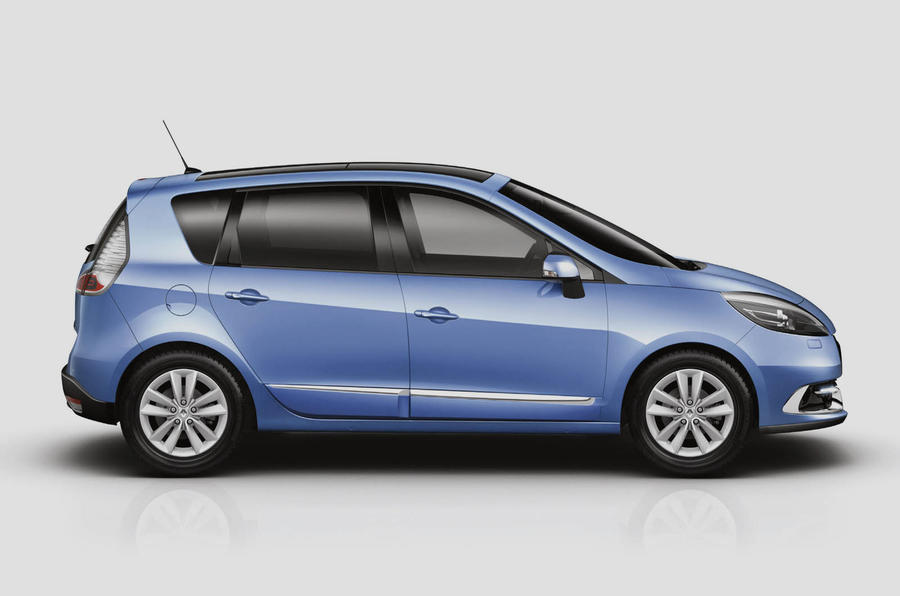 Facelifted Scenic from £18,325