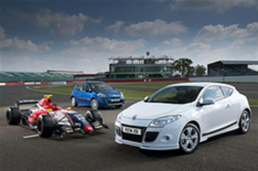 Sporty Clio and Megane launched