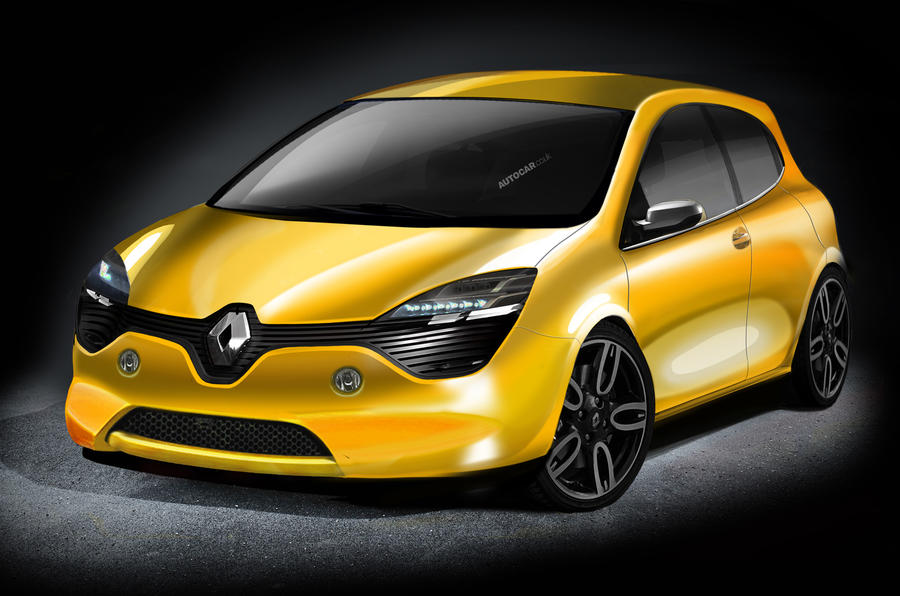 Radical look for next Renault Clio